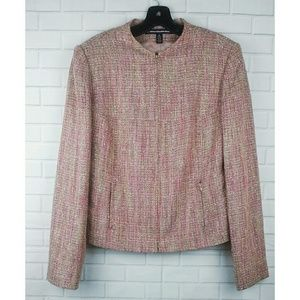 Ellen Tracy Company Zip Blazer Size 12